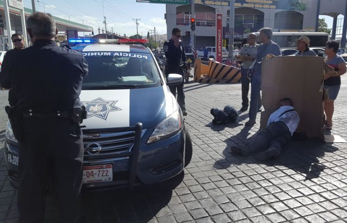 Atropellan a motociclista en la avenida Tecnológico