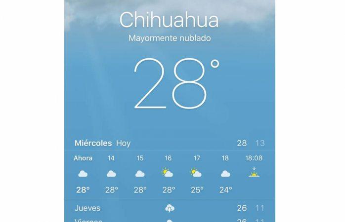 L Clima Chihuahua Empieza el calo...