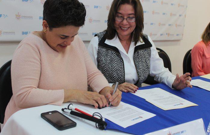 DIF Municipal y Ceiac buscan concientizar en relación a la discapacidad visual