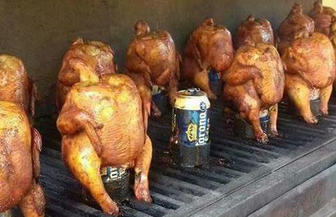 Gran venta de pollos estilo Monterrey