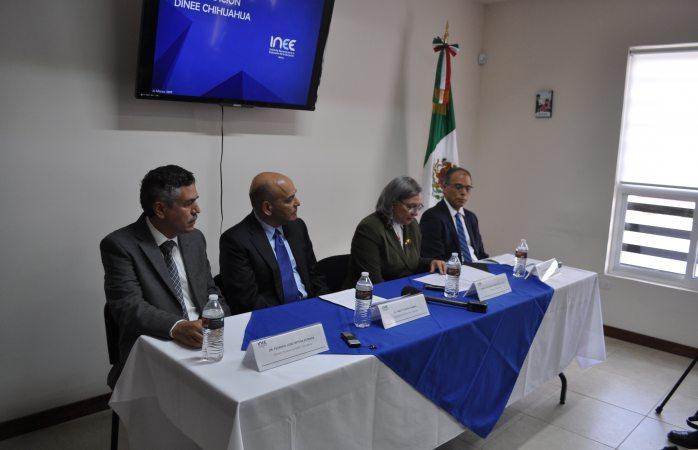 Inauguran oficinas del instituto nacional de evaluaci n de for Oficina nacional de evaluacion