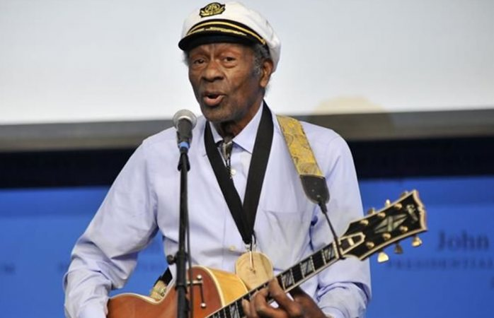 Muere Chuck Berry, uno de los pioneros del rock and roll