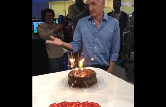 Celebra Jorge Ramos cumpleaños 59 con deseo mexicano