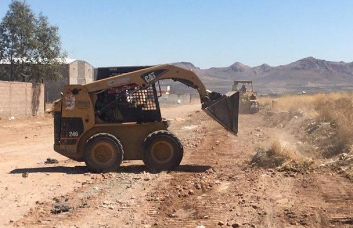 Retira Servicios Públicos 24 toneladas de basura de tiradero clandestino al norte de la ciudad