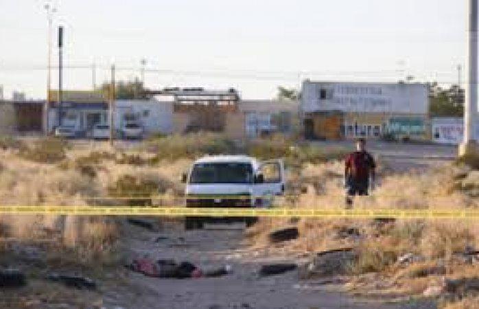 Matan a dos mujeres en Juárez