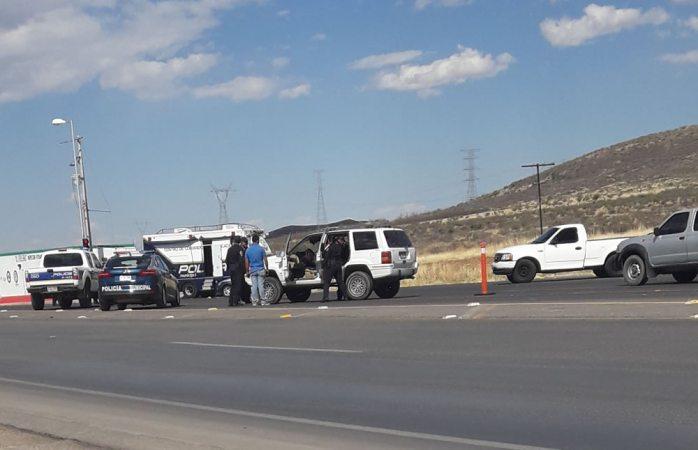 Blinda entrada al municipio Dspm con Operativo Escudo Chihuahua