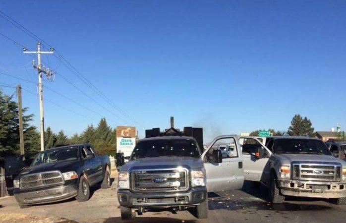 Difunden imágenes del tiroteo en Rubio