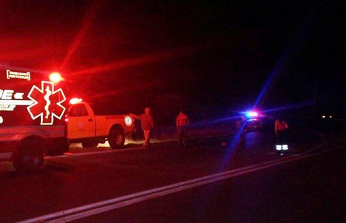 Se quedan sin frenos y se lesionan cuatro jóvenes en carreterazo en Jiménez