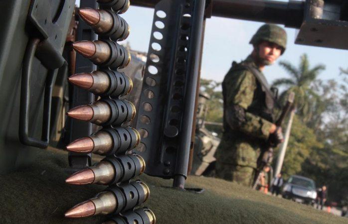 Disparan ordeñadores a elementos del ejército en Puebla