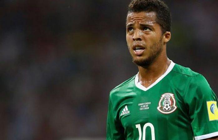 Baja Giovani de la Selección Mexicana