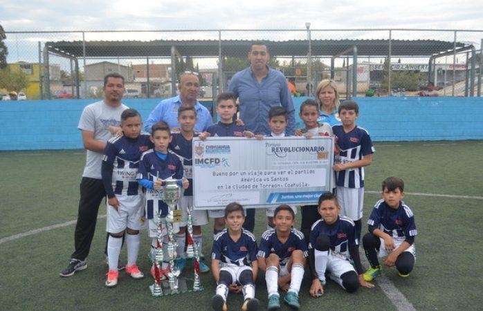 Se preparan campeones del Torneo Revolucionario para viajar a partido de Santos vs América