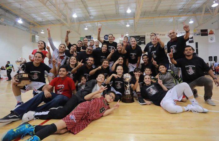 Son Inditas-Guerreras campeonas 2017