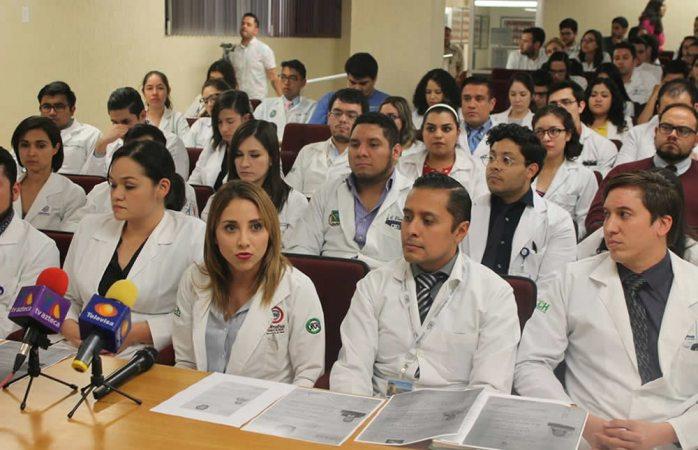 Cierre de plazas es por interés del doctor Ávila: residentes