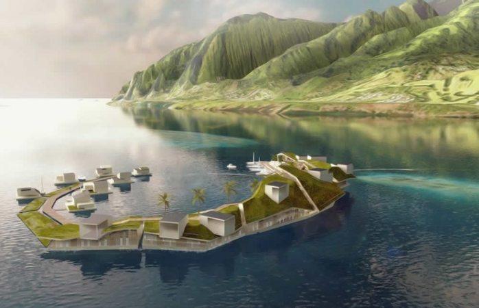 Dejan de ser ciencia ficción las ciudades flotantes