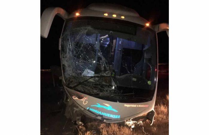 Deja dos lesionados camionazo en Jiménez