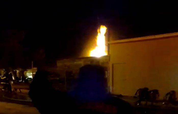 Se incendia gasera en Tierra y Libertad, desalojaron a familias
