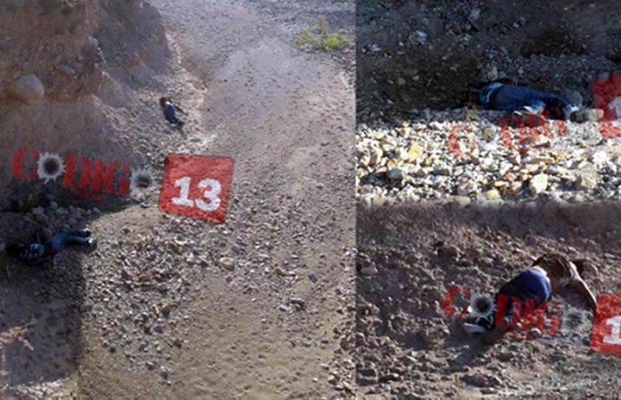 Hallan dos ejecutados en la rúa Parral- Guadalupe y Calvo