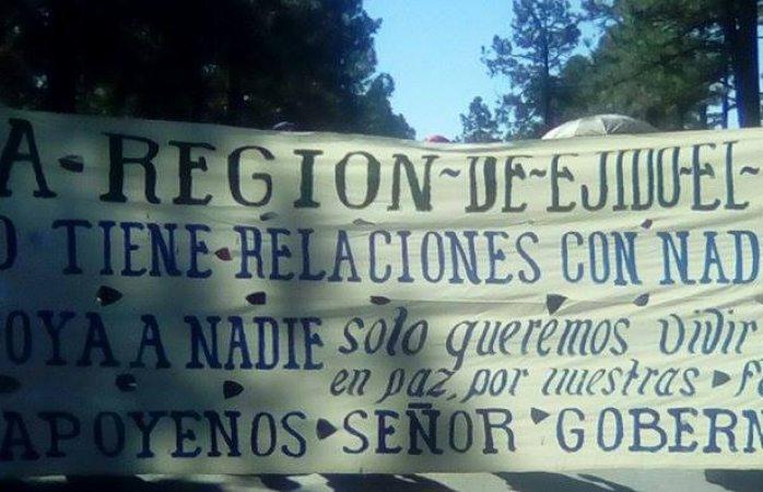 Piden paz y trabajo en el Largo Maderal