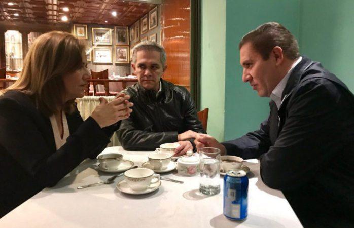 Se reúnen Margarita, Mancera y Moreno Valle