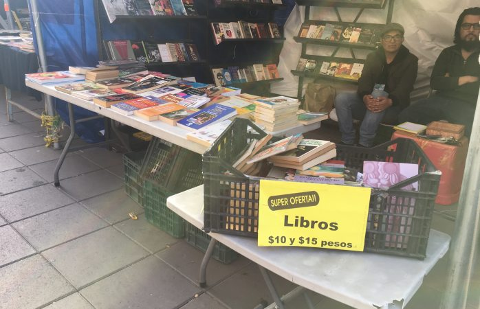 Ofertan libros a 10 y 15 pesos en la Victoria