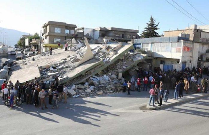 Sacude sismo zona fronteriza entre Irak e Irán