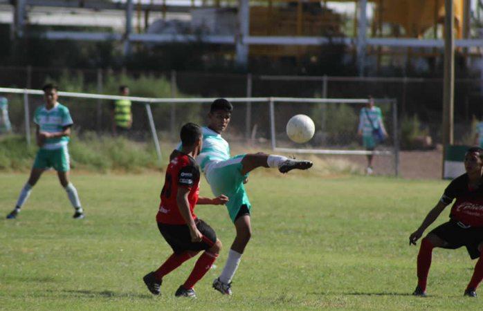 Inician cuartos de final de la Liga Estatal de Futbol de Formación