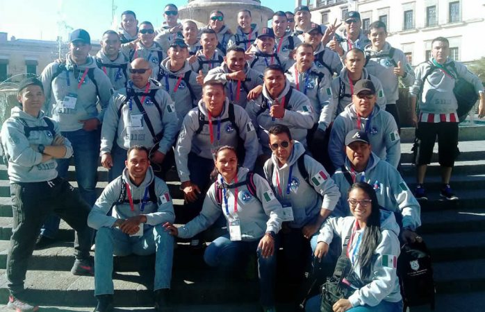 Participan policías de Chihuahua en Juegos Latinoamericanos