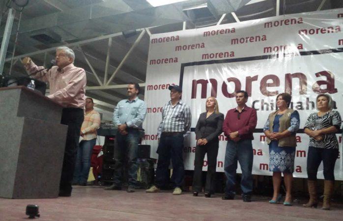Realiza Amlo gira por municipios de Chihuahua