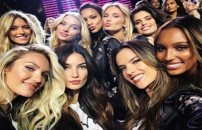 Bochornosa caída de modelo de Victoria Secret