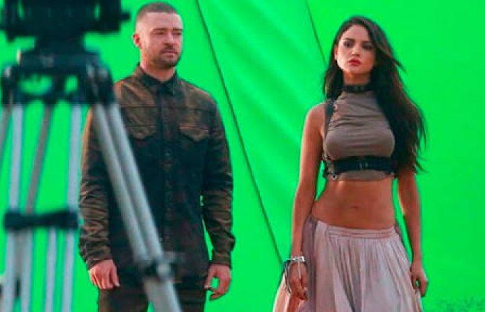 Graba video Eiza González con Justin Timberlake