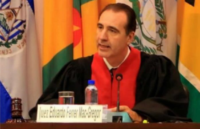 Eligen a juez mexicano como presidente de la Corte Interamericana de DH