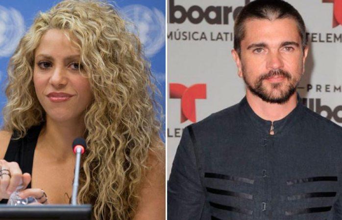 Indigna a fans de Juanes la seca respuesta de Shakira