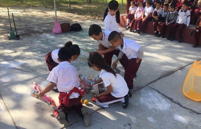 Concientizan a más de 5 mil niños en manejo adecuado de basura