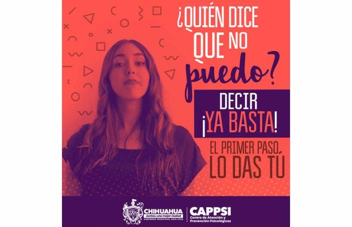 Inicia campaña para erradicar violencia contra la mujer
