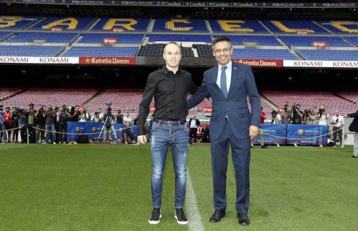 Andrés Iniesta será del Barcelona de por vida