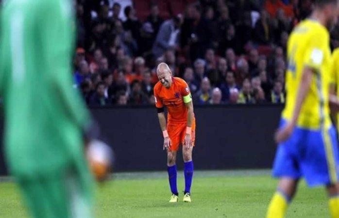 Queda Holanda eliminado del Mundial de Rusia 2018