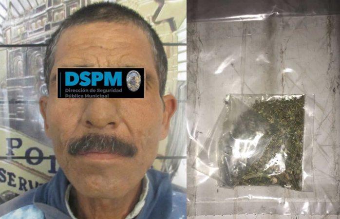 Lo detienen por posesión de heroína y marihuana