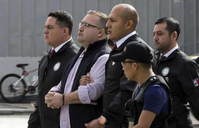Dejan pendiente audiencia contra Javier Duarte