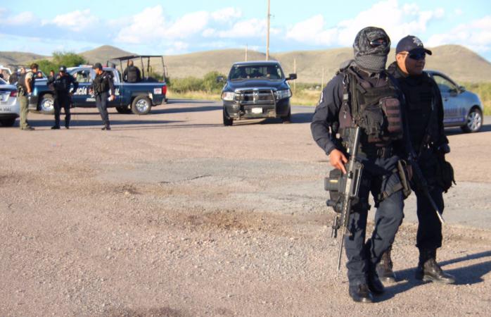 Alertan por posible tiroteo entre narcos y federales en Cuauhtémoc