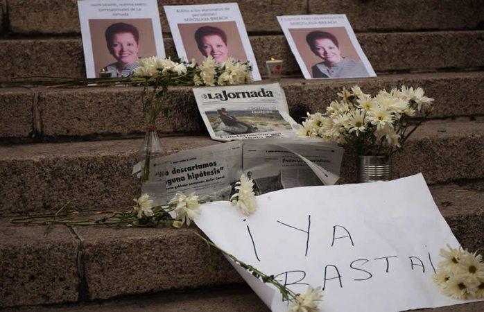 Exigen periodistas resultados sobre caso Miroslava Breach
