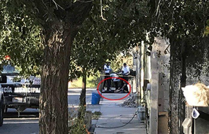 Arrojan un muerto por tortura en banqueta de Ciudad Juárez