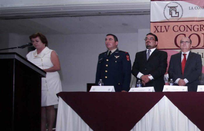 Asiste Alba Flores a asamblea internacional de abogados