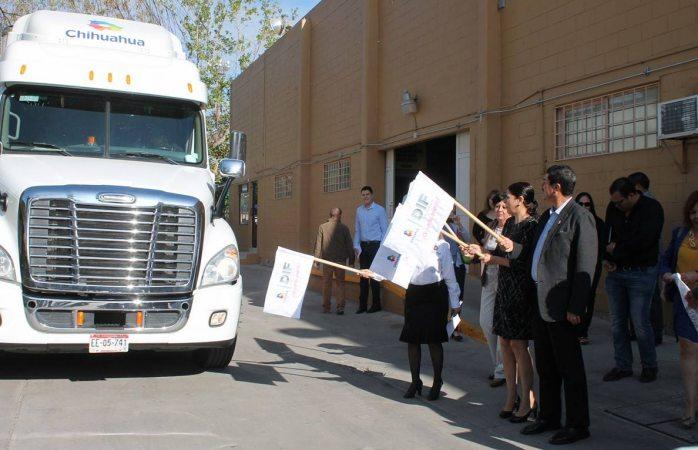 Parte camión con alimentos a Batopilas para combatir desnutrición