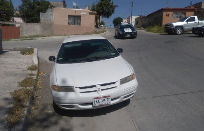 Localizan vehículo robado en la Guadalupe