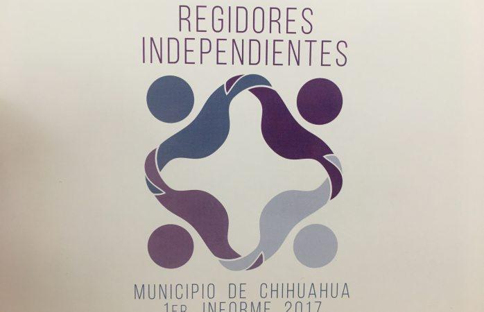 Preparan regidores independientes primer informe de actividades