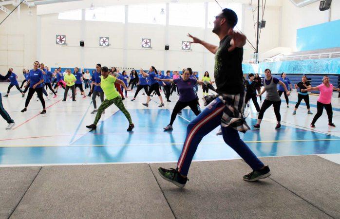 Invitan a practicar actividades deportivas en el Tricentenario