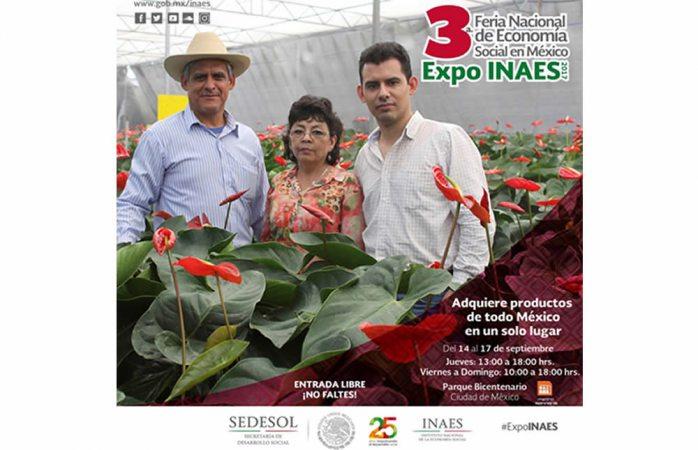 Participarán productores locales en tercera Expo Inaes