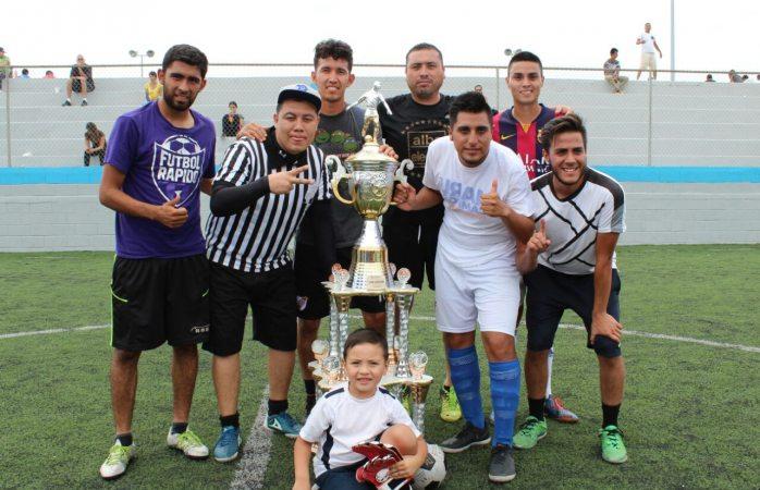 Se quedan promotores con el Torneo de Fútbol Interdependencias