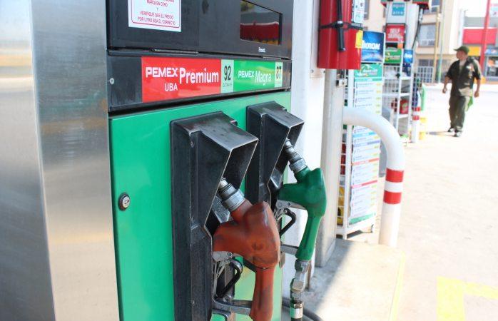 Hay 17 centavos de diferencia entre gasolineras del norte y sur