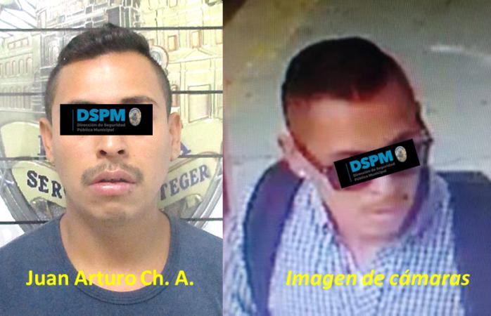 Detienen al probable autor de robo en el Chiwas
